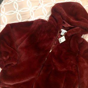 UO Fuzzy Coat